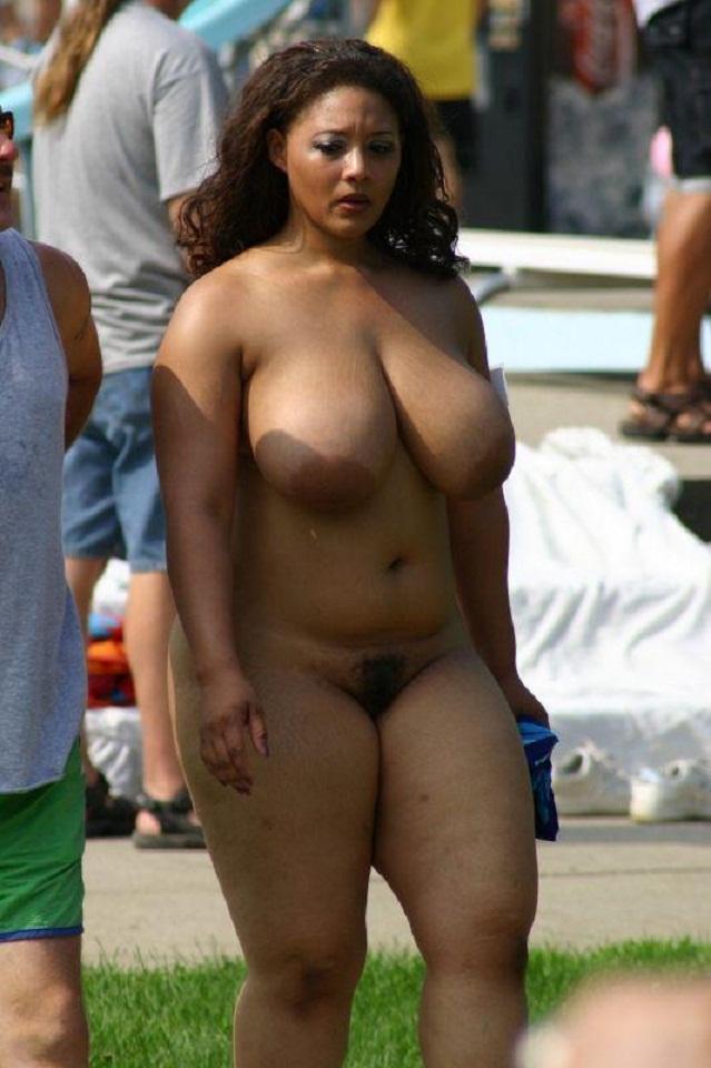 Big black bbw flashing titties tumblr